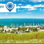 Первая панорамная веб камера в Феодосии